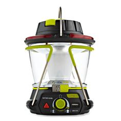 Lighthouse 250 kit: a lantern that can charge up most USB and 12V devices—such as your phone, GPS or MP3 player. 250 lumens of bright light when setting up camp or cooking, and then turn it down using the dimmer. The Lighthouse 250 recharges quickly from a USB power source—or you can use the Nomad 7 solar panel or the included hand crank. You'll get up to 48 hours of light, but you'll be travelling light too—the kit weighs just 1.1 lbs.