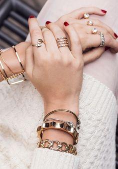 Tudo em Dose Dupla: Tendência Mix de anéis