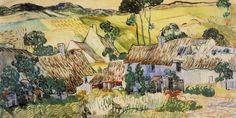 Vincent Van Gogh - Farms near Auvers