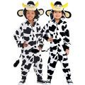 Toddler Boys Zipster Cow One Piece Costume - Party City Canada