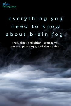 Brain fog can affect you for a variety of reasons. Come learn why you have brain fog and how you can treat this symptom of chronic illness. Chronic Fatigue, Chronic Illness, Chronic Pain, Fibromyalgia, Thyroid Disease, Autoimmune Disease, Lyme Disease, Health Anxiety, Brain Health