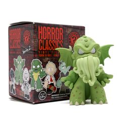 Horror Classics Mystery Mini Series 2 : Blind Box - Horror fans, rejoice! The second series of Horror Mystery Minis are here! This series contains horror legends like Nosferatu, Creature from the Black Lagoon, and Frankenstein!<p>Your box might also contain Edward Scissorhands, Beetlejuice,Hellraiser, or other contemporary horror classics!<p>The Master of Suspense, Alfred Hitchcock, and Shaun and Ed of Shaun of the Dead round out the series with a sense of awareness and humor!