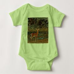 Baby Deer Printed shirt - baby gifts child new born gift idea diy cyo special unique design