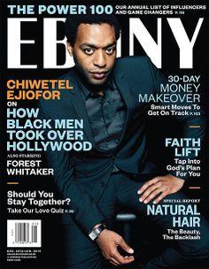 Actor Chiwetel Ejiofor for EBONY Magazine