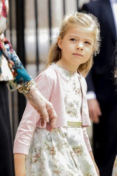 Infanta Sofia of Spain. Born April 10 2007, she is the younger daughter of King Felipe VI and Queen Letizia of Spain.