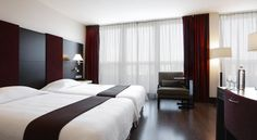 Barbizon Palace combines modern facilities such as a spa area with historic features including a 15th-century chapel. It is across from Amsterdam Central Station and just over a quarter mile from Dam Square. Free Wi-Fi is available.