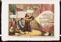 09.1809:Bodleian Libraries, The Flushing phantasmagoria or - Kings conjurors amuseing John Bull.Satire on the Napoleonic wars. (British political cartoon)