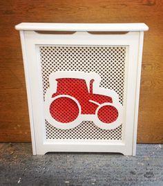 Tractor kids radiator cover #nurseryfurniture #kidsrooms #bespoke