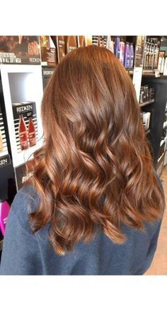 Brown Ombre Hair, Brown Hair With Highlights, Brown Blonde Hair, Brunette Hair, Red Hair To Light Brown, Brown Auburn Hair, Copper Brown Hair, Honey Brown Hair, Golden Brown Hair