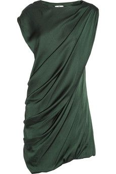 DAY BIRGER ET MIKKELSEN draped crepe dress $132 :: how I don't already own this is a mystery