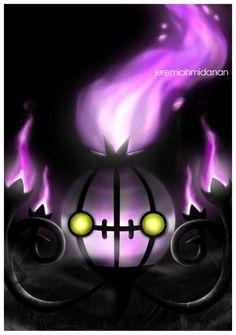 Chandelure Ghost/Fire Pokémon.