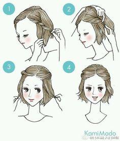 #DIY #Hair #Hack #Woman #Quick #Tips by stategekko