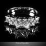 5 STONE PRINCESS CUT 2 CARAT CZ ENGAGEMENT RING | FAUX DIAMOND CUBIC ZIRCONIA 5-STONES ETERNITY PROMISE ANNIVERSARY TRAVEL RING >> BELOVED SPARKLES – WEDDING JEWELRY » Beloved Sparkles | Fine Cubic Zirconia Jewelry | Crystal Hair Accessories