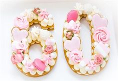 cake number / cake number _ cake numbers ideas _ cake number birthday _ cake number one _ cake number decoration _ cake number 1 boy _ cake number 2 shape _ cake numbers ideas for men Birthday Cake Cookies, Number Birthday Cakes, 60th Birthday Cakes, Number One Cake, Number Cakes, Number 2, Cake & Co, Eat Cake, Cookie Cake Designs