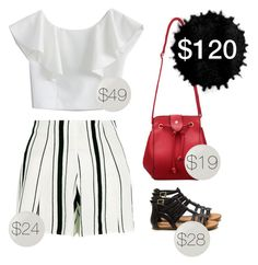 """""""Weekend outfit"""" by blueeyed-dreamer ❤ liked on Polyvore featuring Chicwish and Essie"""