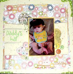 March's crazy4color - Daddy's Hat - Scrapbook.com