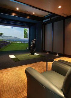 Golf Man Cave Ideas Home