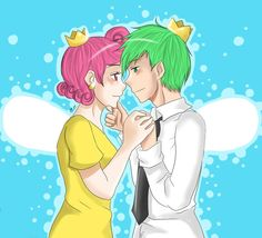 fairly odd parents anime | ... More Like Cosmo and Wanda ~ Fairly OddParents by ~IwannaPissInYourBed