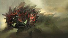 Monster Hunter's akantor
