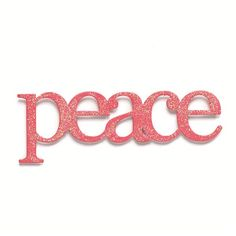 Use this Embellish Your Story Pink Glittered Peace Magnet to embellish your memo boards, frames or wall words. It will also adhere to any magnetic surface.