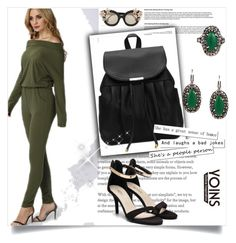"""""""#fabulously Yoins"""" by amrafashion ❤ liked on Polyvore featuring Alice + Olivia, yoins, yoinscollection and loveyoins"""