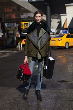 outwear layering. my fave.
