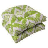 Found it at Wayfair - Pillow Perfect Madori Wicker Seat Cushion (Set of 2)