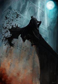 Batman by Robjenx.deviantart.com on @deviantART #geek #dccomics #brucewayne