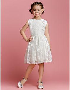Blumenmädchen Kleid A-Linie/Princess-Stil - Juwel-Ausschnitt... – EUR € 59.99