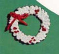 Christmas Wreath Pattern | AllFreeCrochet.com
