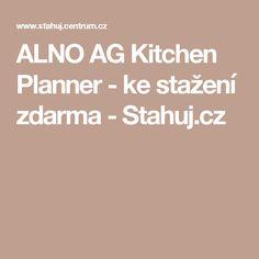 Fabulous ALNO AG Kitchen Planner ke sta en zdarma Stahuj cz