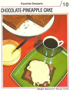 Cake??  It is made with white bread, pineapple and chocolate flavorings, green and red food coloring, nonfat dry milk, artificial sweetener, and four eggs.  A diet of cholesterol and chemicals will sure make you lose weight.