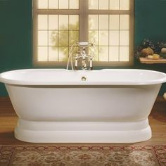 Perfect The REGAL Cast Iron Bathtub With Pedestal Base Is A Classic Beauty. Http:/