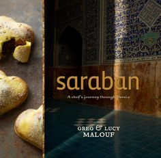 Saraban, A chef's journey through Persia. One of my favorite cookbooks in my collection. I'ts beautiful with stunning artistic touches. Authentic and exotic recepies that you will want to cook.