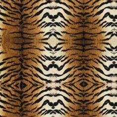 Return of the Wild #453 | Unique Spool. 44 wide, cotton fabric. $10.80 per yard. Great tiger print!