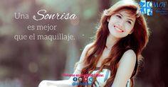 """""""El corazón alegre, hermosea el rostro"""". Así que pónganse el una espolvoreada de sonrisas el día de hoy. #sonrisas #sonrisassanas #sonriendo #sonríealavida"""