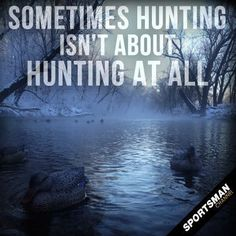 #Hunting #Nature #Beauty----  Its also quiet time alone with GOD and enjoying the outdoors, I cannot count how many times while hunting I passed up taking a shot with my bow and was content just watching deer all around me. #waterfowlhuntingtips