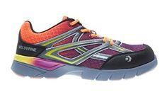 fa8e03dacc69a Wolverine Womens Jetstream Shoe Orange Purple 075 W HDO Knit Cap Bundle      Want