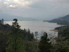 Whiskeytown Lake in Shasta County in northwestern California, United State