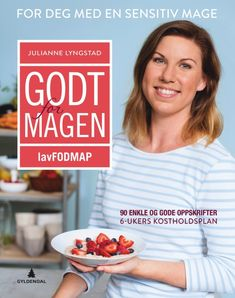 Godt for magen av Julianne Lyngstad (Innbundet) Cole Slaw, Moussaka, Keto, Low Fodmap, Cottage Cheese, Ibs, Granola, Fudge, Food And Drink
