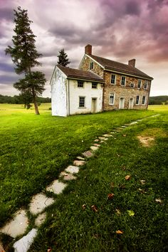 Valley Forge, Pennsylvania (love the delaware valley!)