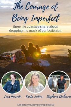 Does perfectionism get in your way of feeling like you're living as your true…