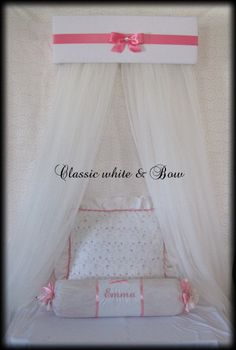 Princess Padded Bed SALE Teester Crib Canopy by SoZoeyBoutique, $49.95