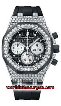 26092CK.ZZ.D002CA.01 - This Audemars Piguet Royal Oak Offshore Chronograph Womens Watch, 26092CK.ZZ.D002CA.01 features 37 mm 18k White Gold set case, Black dial, Sapphire crystal, Fixed bezel, and a Rubber - Black Strap. - See more at: http://www.worldofluxuryus.com/watches/Audemars-Piguet/Royal-Oak-Offshore/26092CK.ZZ.D002CA.01/62_64_7823.php#sthash.MgAqkRRM.dpuf
