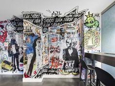 Ein Restaurant voller Street Art https://www.langweiledich.net/ein-restaurant-voller-street-art/