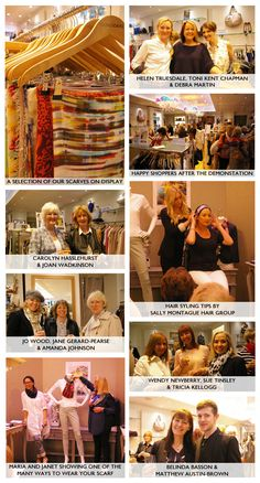 The Scarf Event at Young Ideas - great event at our Derby Store!