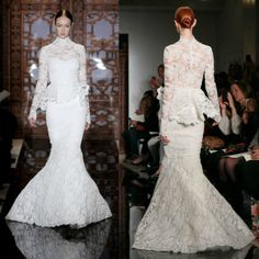 Spectacular  Pretty Perfect Peplum Wedding Dresses