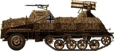 Sd.Kfz.4/1 Panzerwerfer (1943): The need for a mobile, autonomous unit was obvious by 1942, especially on the Eastern Front. Indeed, the trails of smoke left after firing betrayed the presence of the Nebelwerfer batteries, which needed to relocate quickly to avoid being caught by counter-battery fire.