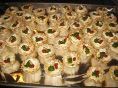 The Full Plate Blog: Easy Appetizer - Savory Tartlets