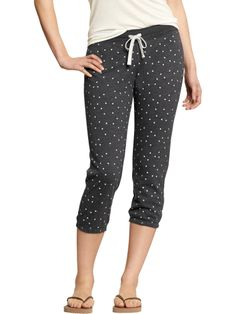 Women's Cropped Skinny Sweatpants Product Image